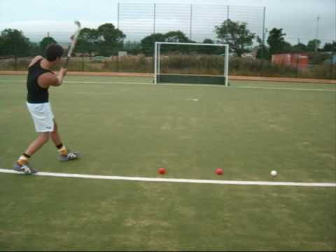 Field Hockey hitting