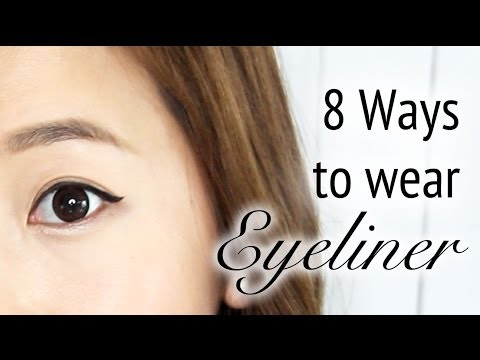 8 Ways to wear Eyeliner