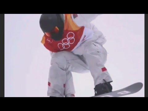 American Shaun White wins halfpipe Olympic gold