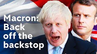 Video Brexit: Macron warns Johnson that Irish backstop is 'indispensable' MP3, 3GP, MP4, WEBM, AVI, FLV Agustus 2019