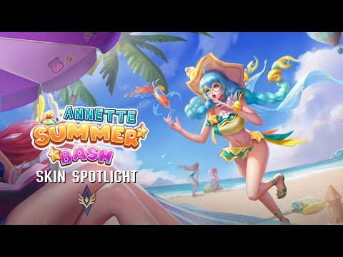 SKIN Spotlight | Summer Bash Annette