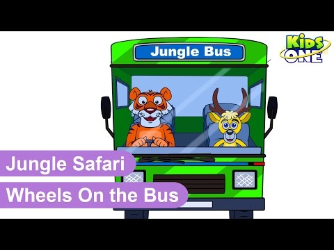 Wheels On The Bus || Nursery Rhymes Songs
