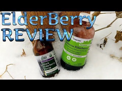 VitaCost 5000MG ElderBerry Extract Vs GaiaHerbs 1,902MG ElderBerry