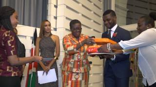 Presentation of Prizes by Her Excellency Akua Sena Dansua