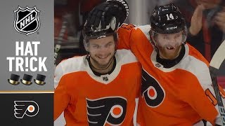 Sean Couturier earns second career playoff hat trick in Game 6 loss by NHL