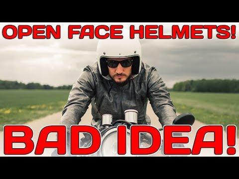 Open face Motorcycle Helmets...