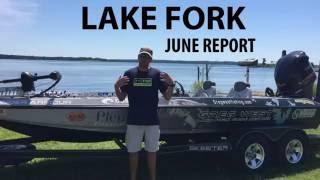 Video Lake Fork Guide Greg West's June Fishing Report MP3, 3GP, MP4, WEBM, AVI, FLV Maret 2019