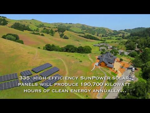 SolarCraft Spirit Rock Solar Power Installation