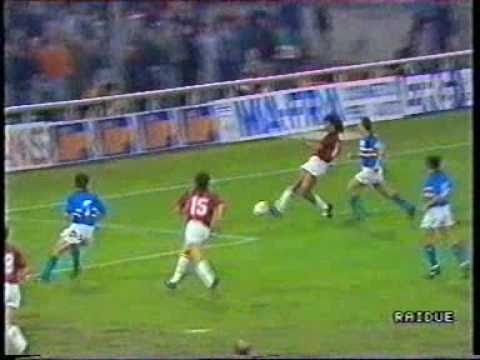 Sampdoria - MIlan 1-1  AND  Supercoppa Europea 1990 (видео)