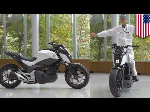 Honda s SelfBalancing Riding Assist Technology