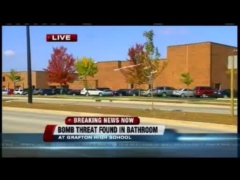 No suspicious device found after bomb threat at Grafton High School