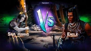 Killer Instinct - Fight 28 - Shin Hisako(Holder) vs Eagle(Challenger)