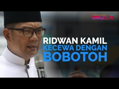 Ridwan Kamil Kecewa Dengan Bobotoh