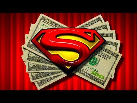LIVE PLAY on Superman The Movie Slot Machine with Bonus and Big Win!!!