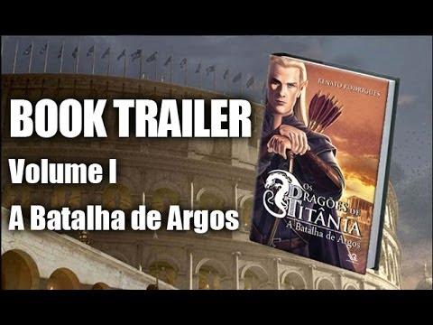 Trailer do livro: Os Dragões de Titânia - Volume I