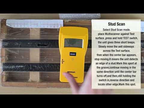 all-sun Wood Stud Finder /Metal Detector /AC Electrical Scanner 3 in 1