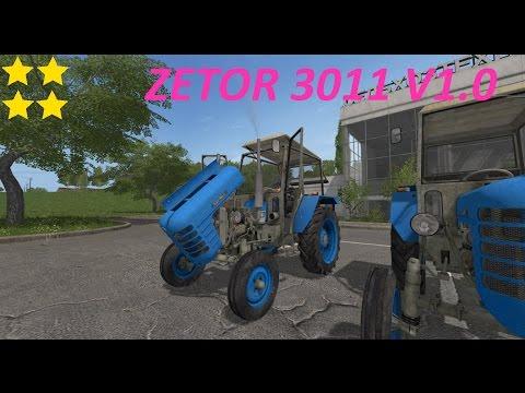 FS17 ZETOR 3011 V1.0
