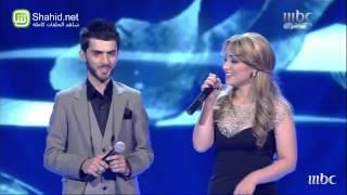 Arab Idol -الأداء - برواس حسين و زوجها - كريان