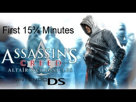 assassins creed altairs chronicles cheats nintendo ds