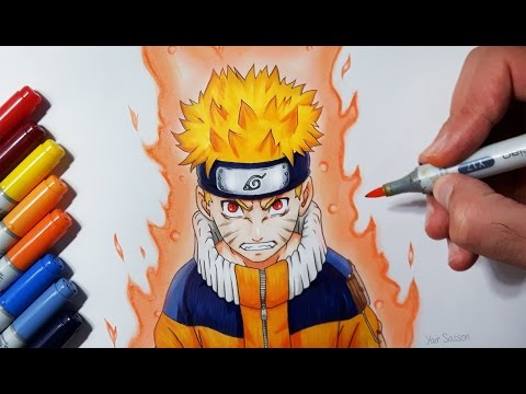 Drawing Naruto Uzumaki - Jinchūriki Phase One