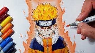Video Drawing Naruto Uzumaki - Jinchūriki Phase One MP3, 3GP, MP4, WEBM, AVI, FLV Juni 2019