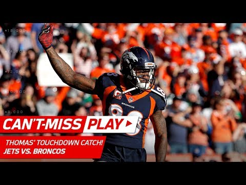 Video: Demaryius Thomas' Big TD Catch After Brandon Marshall's Strip Sack! | Can't-Miss Play | NFL Wk 14
