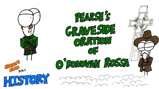 Remembering 100 years later, the graveside oration delivered by Patrick Pearse which acted as a rousing manifesto for the Easter Rising the following year.August 1st 1915