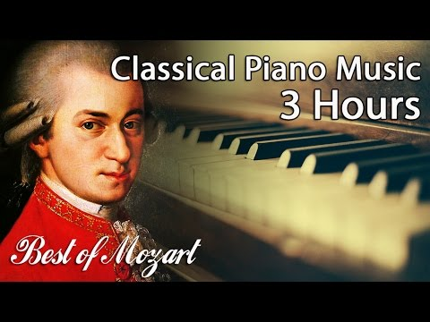 The Best of Mozart | 3 HOURS Piano Sonatas | Classical Music Studying Concentration Reading Playlist