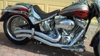 7. 2006 Harley-Davidson Screamin Eagle Fatboy 103CI Baker 6-Speed