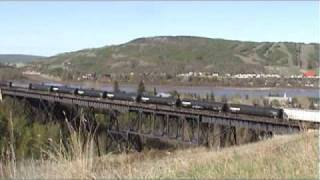 Canadian National At Peace River A
