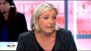 Video Marine  Le Pen et Najat Vallaud Belkacem MP3, 3GP, MP4, WEBM, AVI, FLV Oktober 2017
