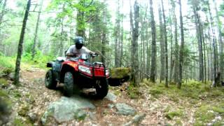 7. Arctic cat 700 ATV run
