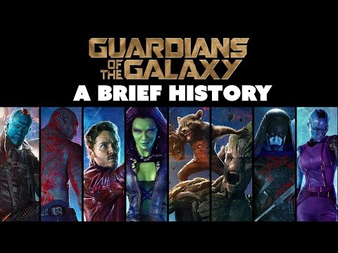 A Brief History of the Guardians of the Galaxy