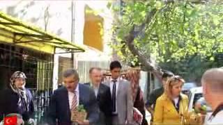 Başkan Aydın Nuripaşa Mahallesinde Fesleğen Dağıttı