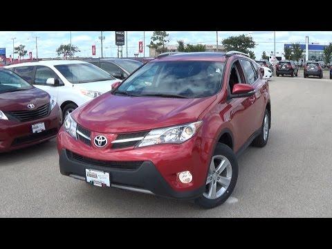 2014 Toyota Rav4 XLE Review, Start up and Walkaround
