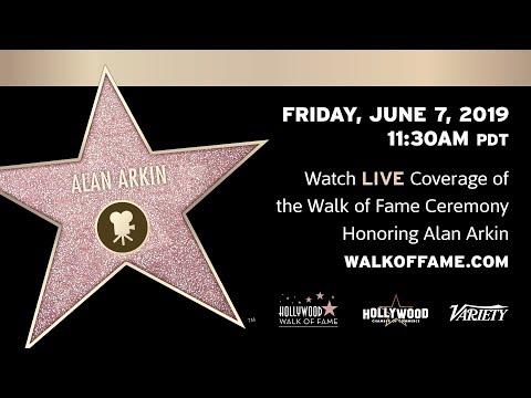 Alan Arkin Walk of Fame Ceremony