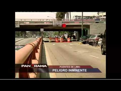 Puentes de Lima, peligro inminente: desidia y decadencia en la capital
