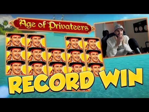 RECORD WIN!!! Age of Privateers Big win – Casino Games – Online slots – Huge Win