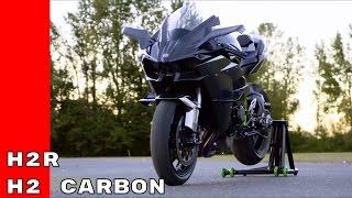 4. 2017 Kawasaki Ninja H2R and H2 Carbon
