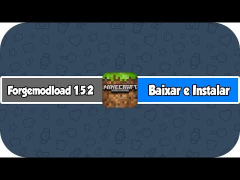 Como Baixar e Instalar Forge ModLoader No Minecraft 1.5.2 (HD)