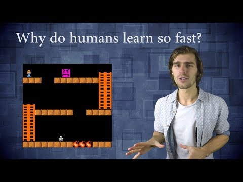 Comparing humans with the best Reinforcement Learning algorithms (видео)