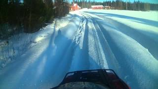 10. Winter fun with Can am Outlander 400