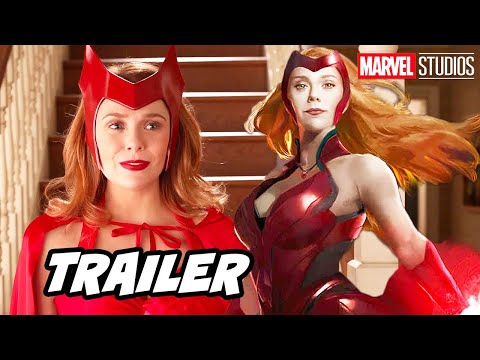 Avengers Wandavision Trailer - Marvel Phase 4 X-Men Easter Eggs Breakdown