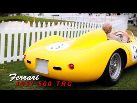 1957 Ferrari 500 TRC Pebble Beach Concours on Power Brake TV