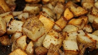These garlic roasted potatoes require very little effort. They are cheap and very tasty. If you dip them in ketchup after baking, they ...