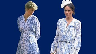 Download Lagu Meghan Markle dressed just like Princess Diana Mp3