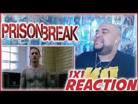 """Prison Break Reaction Season 1 Episode 1 """"Pilot"""" 1x1 REACTION!!!"""