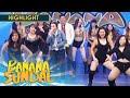 Banana Sundae: Sexbomb dancers greet Angelica Panganiban!