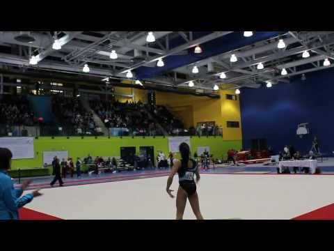 Peng Peng Lee - Floor - Elite Canada 2010