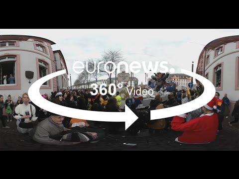 Το καρναβάλι στο Μάιντς της Γερμανίας (βίντεο 360º)